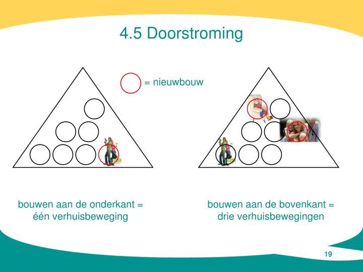 4.5 Doorstroming