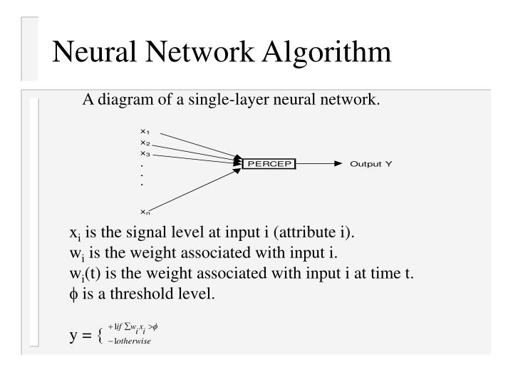 Neural Network Algorithm