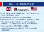 uk us happenings