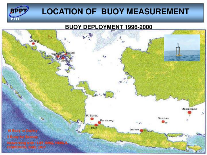 LOCATION OF  BUOY MEASUREMENT