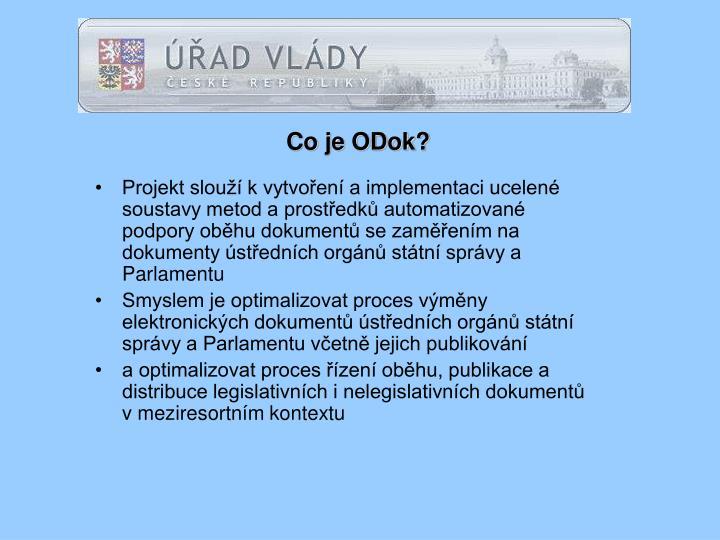 Co je ODok?
