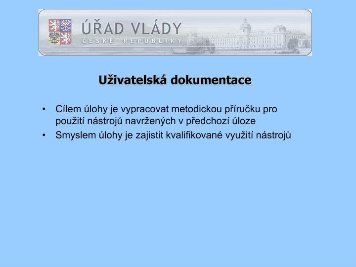 Uživatelská dokumentace