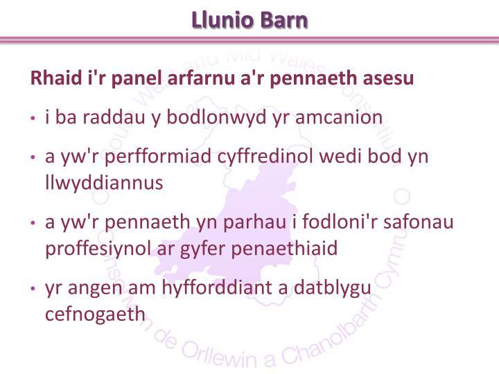 Llunio Barn