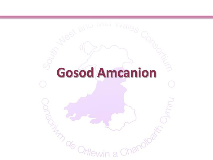 Gosod Amcanion