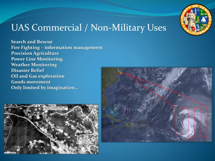 UAS Commercial / Non-Military Uses