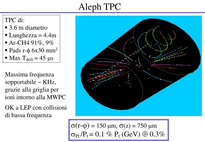 Aleph TPC