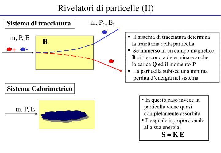 Rivelatori di particelle (II)