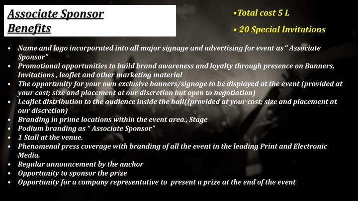 Associate Sponsor