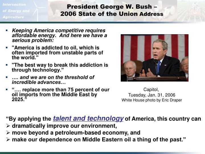 President George W. Bush –