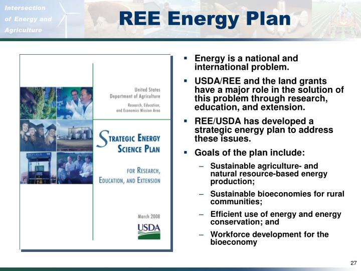 REE Energy Plan
