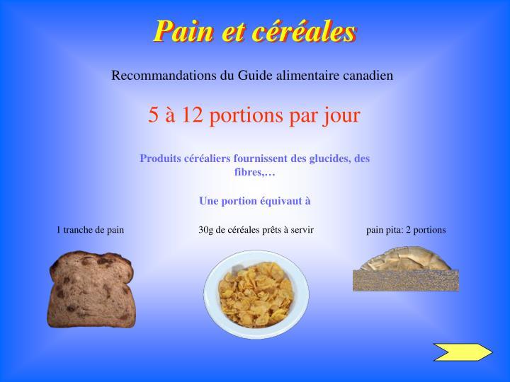 Pain et céréales