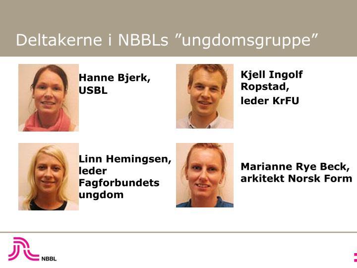 Hanne Bjerk,  USBL