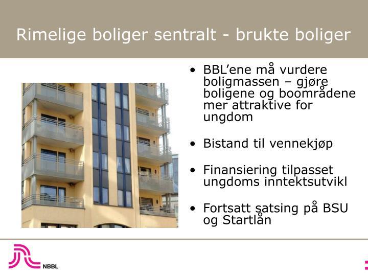 BBL'ene må vurdere boligmassen – gjøre boligene og boområdene mer attraktive for ungdom