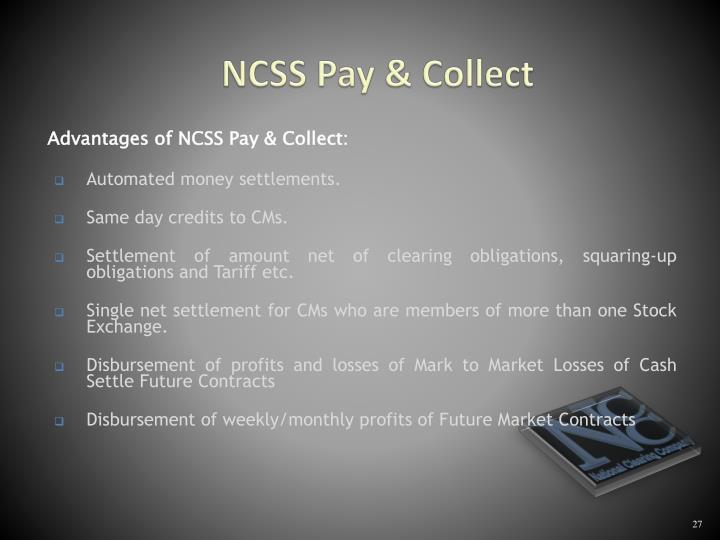NCSS Pay & Collect
