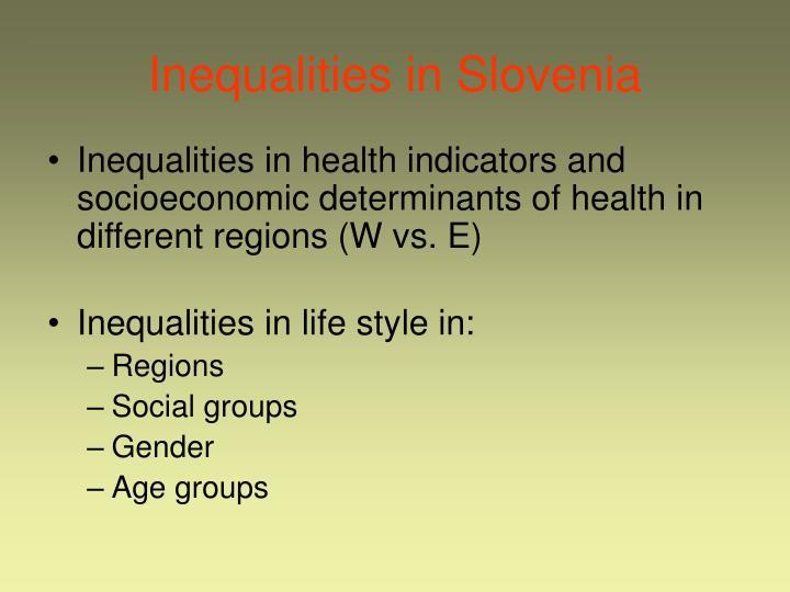 Inequalities in Slovenia