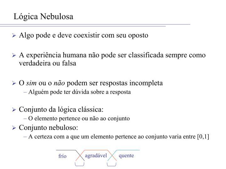Lógica Nebulosa