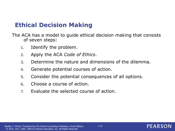 ethical decision making for procter and