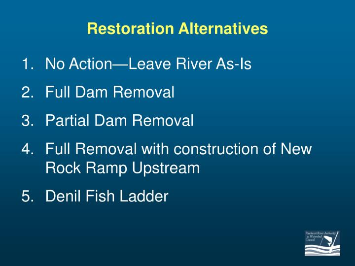 Restoration Alternatives