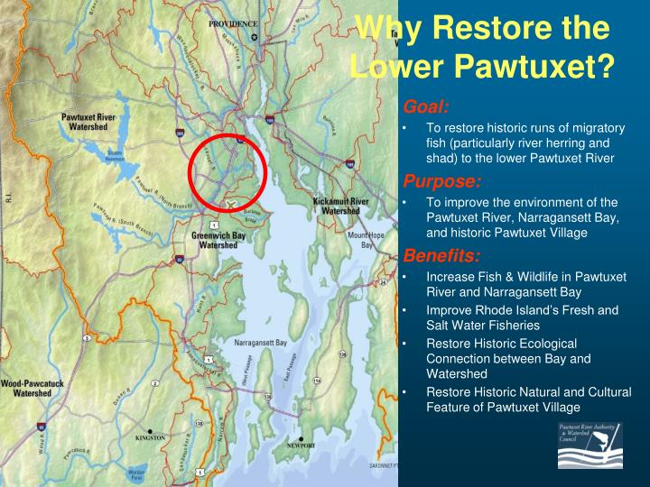 Why Restore the Lower Pawtuxet?