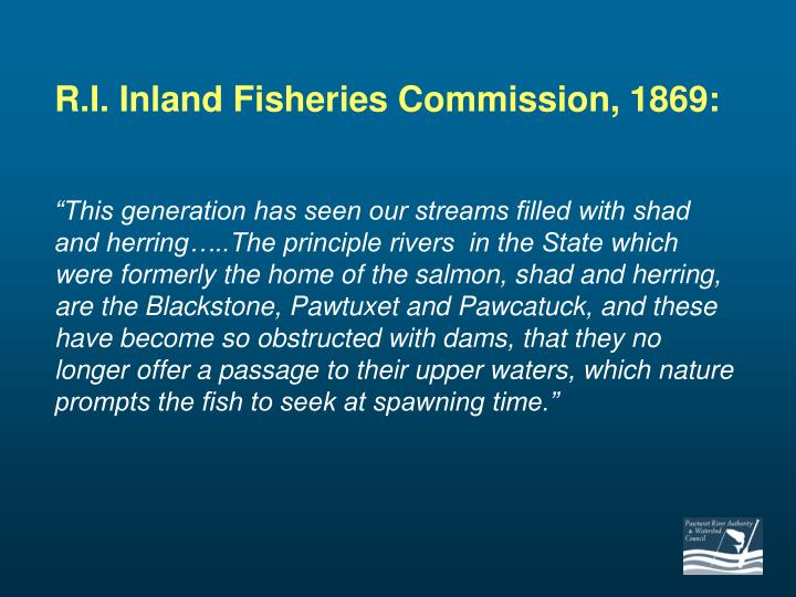 R.I. Inland Fisheries Commission, 1869: