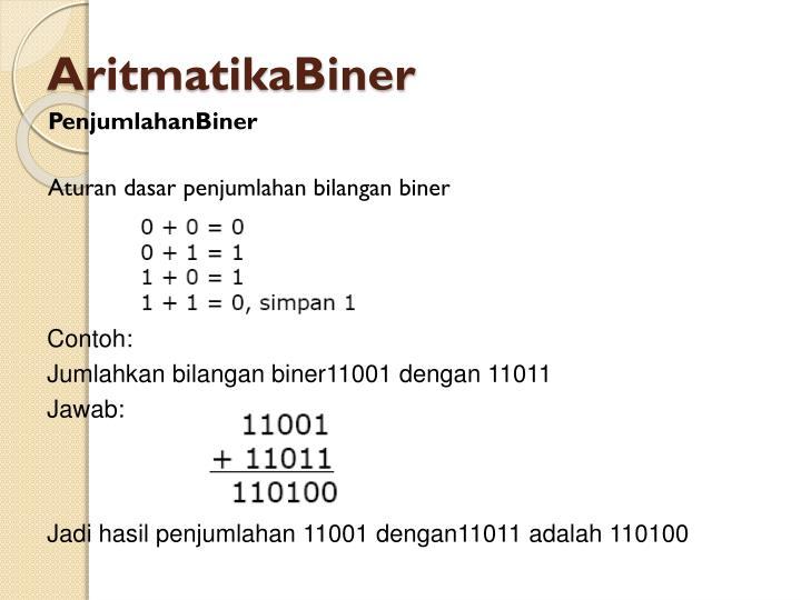 AritmatikaBiner