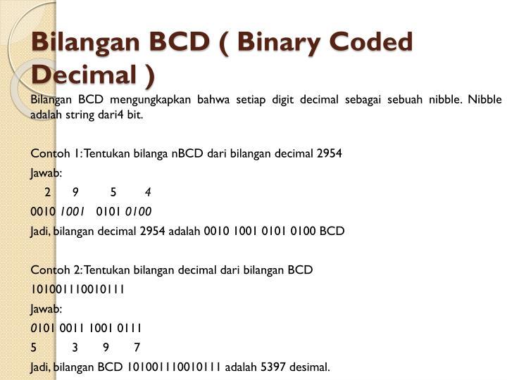 Bilangan BCD