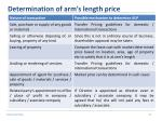 determination of arm s length price