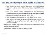 sec 149 company to have board of directors2