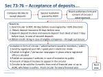 sec 73 76 acceptance of deposits7
