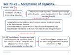 sec 73 76 acceptance of deposits8