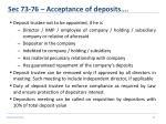 sec 73 76 acceptance of deposits9