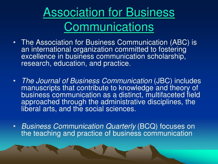 Association for Business Communications