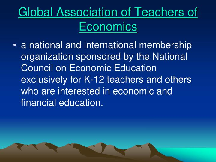 Global Association of Teachers of Economics
