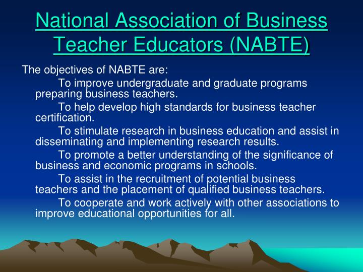 National Association of Business Teacher Educators (NABTE)