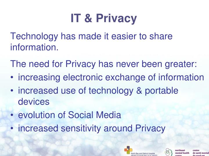 IT & Privacy