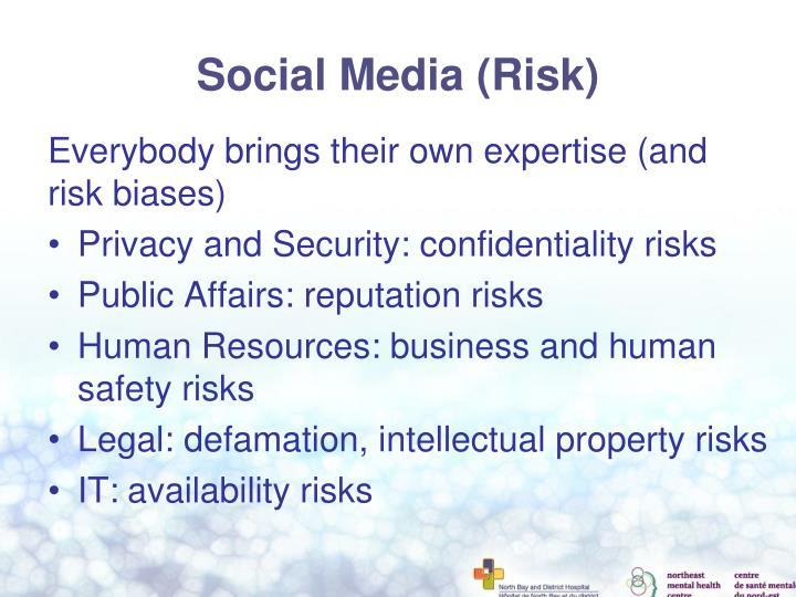 Social Media (Risk)