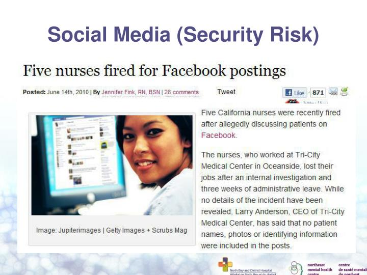 Social Media (Security Risk)