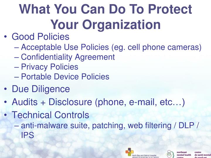 What You Can Do To Protect Your Organization