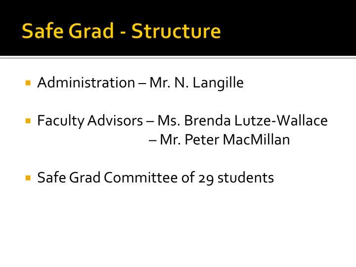 Safe Grad - Structure