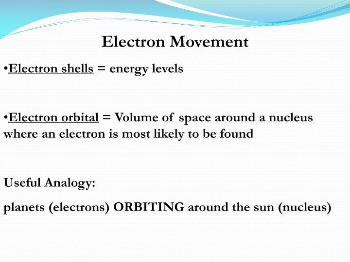 Electron Movement