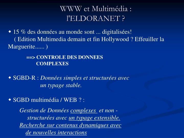 WWW et Multimédia :