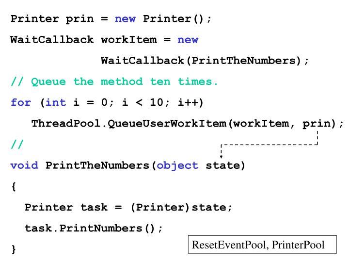 Printer prin =