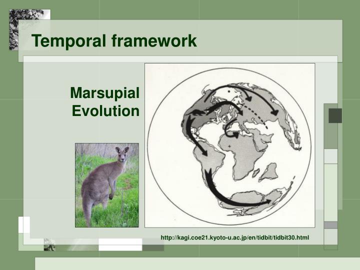 Temporal framework