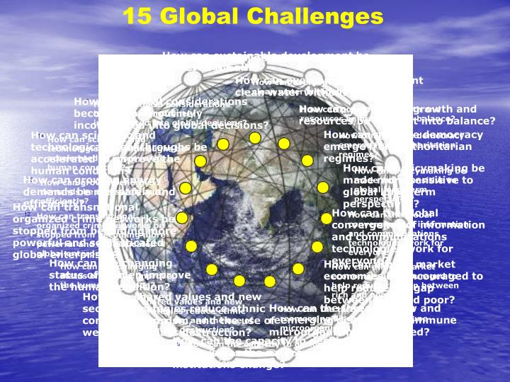 15 Global Challenges