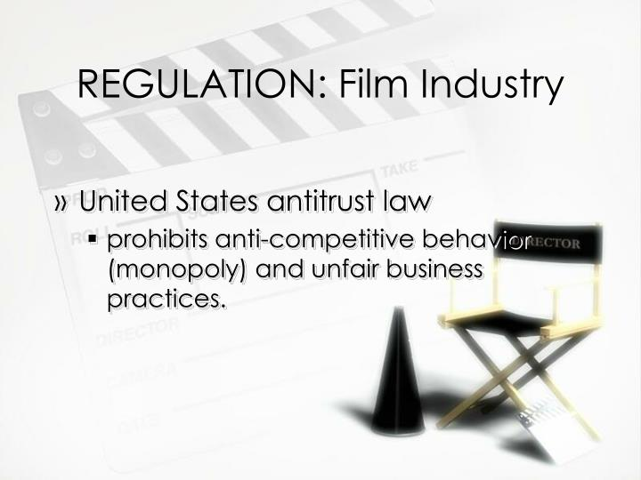 REGULATION: Film Industry