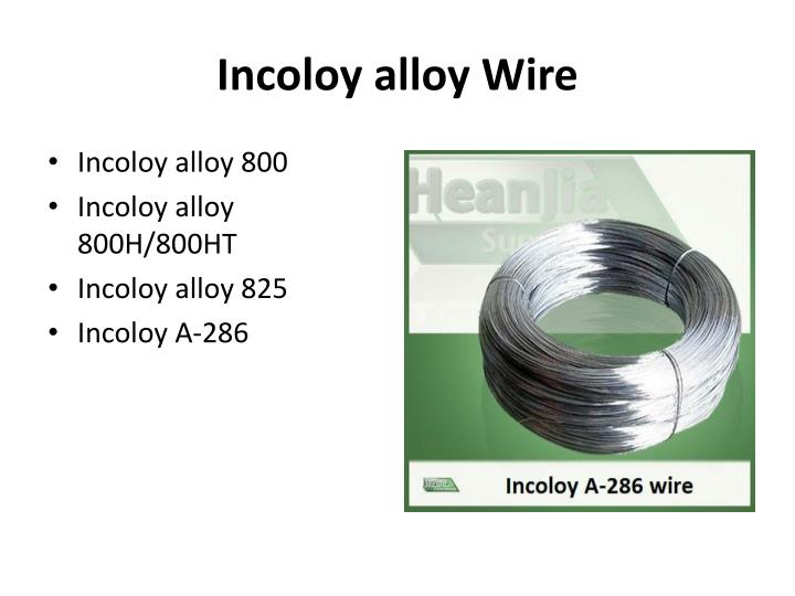 Incoloy alloy