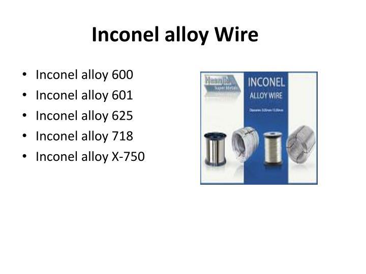 Inconel alloy