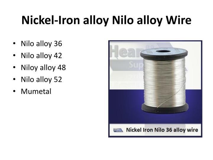 Nickel-Iron alloy
