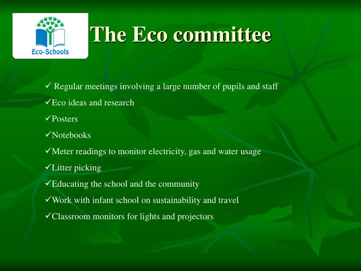 The Eco committee