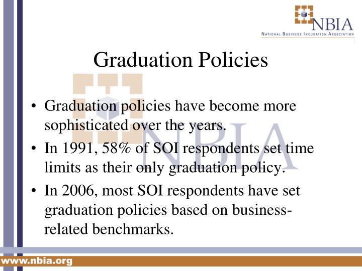 Graduation Policies